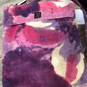 1154 Lill Studio Bags - NWT velour crossbody bag